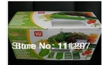 Free Shipping as seen on tv 24pcs/lot Fruit&Vegetable Nicer Dicer Plus Slicer Cutter Chopper Chop Potato Peelers kitchen tolls