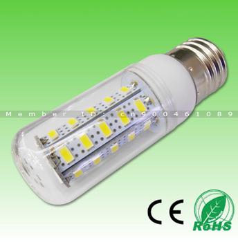 6pcs Free Shipping! Samsung SMD5630 36LED 950lm, Super Bright Warm White/Cold White AC220V E27/GU10/G9 led corn bulb light
