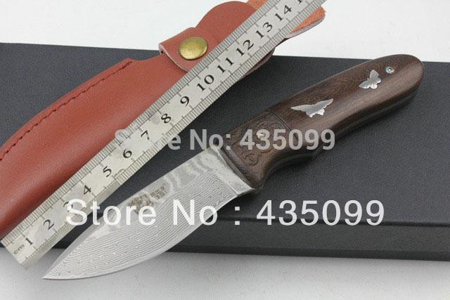 Damascus 58HRC Knife