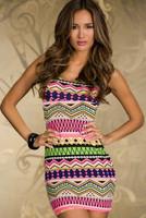 2015 Top Fashion Natural Dresses Vestido De Renda Women Summer Dress New Fashion O-neck Sleeveless Luxury Totem Print Sexy NJ05