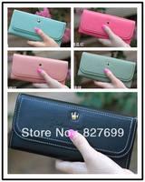 Free shipping lady fashion wallet elegant long design sweet gentlewomen women's wallet