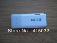 1pcs 64GB  USB 2.0 Flash Memory Pen Drive Stick Drives Sticks Pendrives U Disk Thumbdrive Free Shipping From MicroData