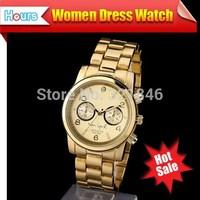 New 2014 Clock Top Brand Women Dress Watches Luxury Brand Fashion Rhinestone Watch Limited Edition Full Steel Watches Men Quartz