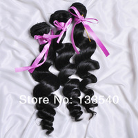 Queen Hair Products Malaysian Virgin Hair Loose Wave 3pcs/lot with DHL Free Shipping 1000% Unprocessed Grade 5a Virgin Hair