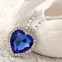 Titanic Heart Of The Ocean Necklaces Crystal Silver -Plated Necklaces & Pendants Topshop Necklaces For 2013 Women Gifts HLJ 151