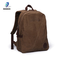 Promotions sports backpack men's casual backpacks high quality travel bag canvas student school bags for men