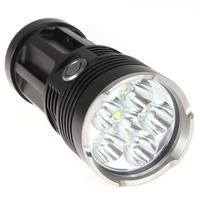 Securitylng High Power 9000 Lumen 6 x CREE XML T6 LED Flashlight Torch Waterproof Self-defense 3 Mode 18650 LED Flash Light
