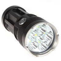 Securitylng 9000 Lumen 6 x CREE XML T6 LED Flashlight Torch Waterproof Self-defense 3 Mode 18650 LED Flash Light