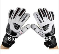 New  hot sale Soccer goalkeeper gloves,Non-slip goaltender gloves,Children goalkeeper gloves professional,high quality gloves!!