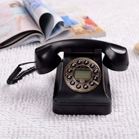 Fashion antique old telephone vintage telephone swivel plate antique telephone rotary dial telephone