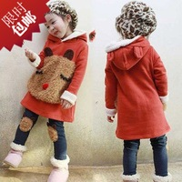 Free shipping Girls winter clothing,  child 2014 set clothing clothes ,,children set clothing with hooded , girls winter down