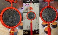 "Pu'er Blooming Tea Chinese zodiac ""Rabbit "" Pu Er Tea Yunnan Chiese puer raw tea sheng puerh health food Carving craft tea gift"