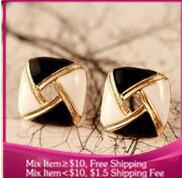 B230 supernova sales multicolor hollow Drops of oil Stud earrings for women