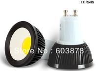HOT SALE 3W LED  GU10 SPOT LIGHT COB  AL BULB FREE SHIPPING DIMMABLE ACCEPT