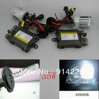 Car Auto parts Xenon 35W Xenon HID Conversion Slim Kit H7 6000K