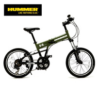 Hummer pt-2011f hummer bicycle series folding mountain bike professional 21 variable speed v