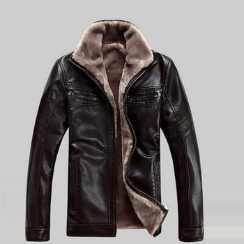 819 большое дело peoduct бесплатная доставка бренд из натуральной кожи одежда мужская кожаная куртка, 2014 новинка кожаная одежда, 328