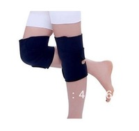 Free shipping Tourmaline self heating kneepad Magnetic Therapy knee support tourmaline heating Belt knee Massager