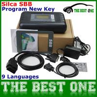 2014 Universal SBB Key Programmer By Immobilizer For Multi-Brands SBB Silca V33.02 / V33 Auto Car Key Maker No Token DHL Free