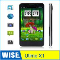 Utime X1 Android 4.2 Smart Phone 5'' Screen MT6589 1.2GHz Quad core 1GB RAM 4GB ROM 3G WCDMA Dual SIM phones free shipping