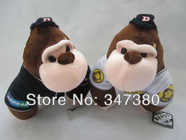 "EMS Free Shipping Movie daming scarlet plush and stuffed toy 25cm 9"" gorilla doll birthday gift 30pcs/lot New Hot(China (Mainland))"