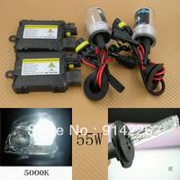 Car Auto parts Xenon 55W Xenon HID Conversion Slim Kit H7 5000K