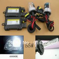Car Auto parts Xenon 55W Xenon HID Conversion Slim Kit H7 6000K