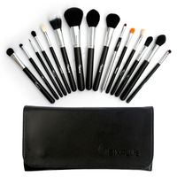 Sixplus Professional 15 Pcs Black Makeup Brushes Set Brand Cosmetic Essential Kits Wholesale