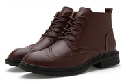 Boots for Men  Winter  Boots The Trend of Casual Boots Wear-resistant Martin Boots  Men's Shoes Snow Boots Free shipping