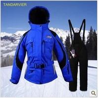 Double parent-child ski suit female skiing set women's thermal ski suit