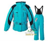 Parent-child suit ski skiing set women's ski suit thermal windproof waterproof outdoor jacket