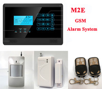 M2E Wireless GSM SMS Text Home Security Alarm System, 4 Bands, Touch Screen P348