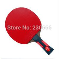 Free Shipping Original Double table tennis Fish 7A Long Handle Or Short Handle  PingPong Racket