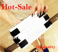 Free Shipping 2014 New 9 Colors Hot-Sale Candy Colors Acrylic Women Handbag Brand Design Chain Evening Bags Transparent Bags