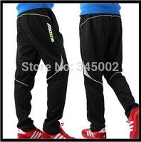 2014-2015 Embroidery logo trouser legs pants,2015 Football the leg training sport pants black TOP Quality free shipping