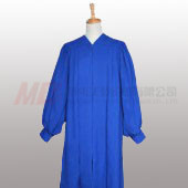 Senior Fluted Trinity Choir Robes with Cuff sleeve - Royal Blue