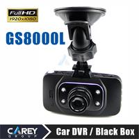 2014 NEW ! Car Camera DVR GS8000L 1920*1080P 140 degrees wide Angle 2.7inch LCD G-Sensor HDMI