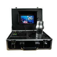 2013 Newest 700TVL PTZ underwater camera 20M cable CCD 14PCS IR/white LED lights nightvision waterproof rotate 360 degree