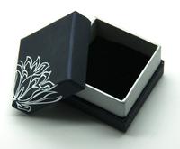 Size 5*5*3.5 FUSSEM Wholesale  Sold Top Quality Fashion Black Jewelry Box Wedding Valentine Gift Box Ring Box
