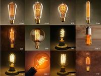 1900 Antiquity Vintage World Edison light Bulb 40W 110V 220V 240V Tube filament Tungsten,Home Decor.Free Shipping,A19