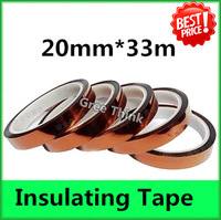 Free shipping.1pcs High aptemperature tape, PCB tape, Insulating tape, 2cm 3cm 4cm driver tape transformer tape  for LED DIY .