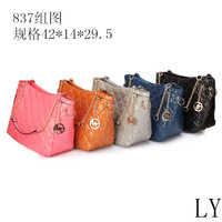 Free shipping PU Leather womens brand handbags fashion 2013 new 5681# cheap bags