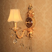 Europe fashion crystal glass wall lamp bedside lamp  Free shipping new arrival 2014