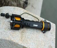 YEZL Y2 FLASHLIGHT,multifunction,XML-T6 860LUMEN alertfunction,18650battery DIY flashlight new arrival ONE SET