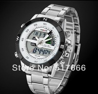 Special luminous men's  waterproof sports watch multifunctional military submersible  stainless steel male watch