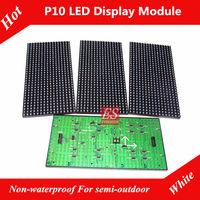 Semi-outdoor White P10 LED Module  Plate