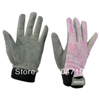 Cycling Women Racing Gloves L size Mountain MTB road bike bicycle Full Finger gloves free shipping