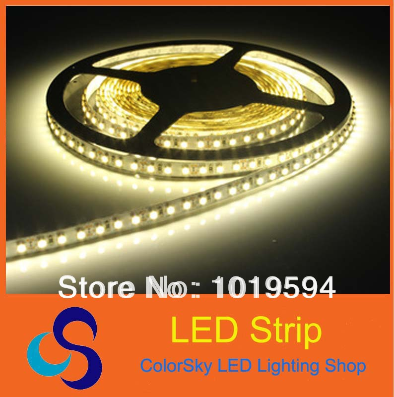 5m 600 LED 3528 SMD 12V flexible light 120 led/m, Red/Green/Blue/Yellow/Warm white/White LED Strip Light(China (Mainland))