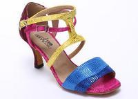 Product female Latin shoes ballroom dancing shoes dance shoes soft square dance shoes outsole