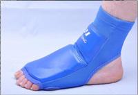 Half Finger Boxing Foot Guard Leggings Leg Instep Protector Ankle Support Sanda MMA Karate Muay thai Drop Shipping GYD40